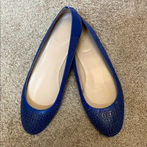 J. Crew Nora Perforated Ballet Flats Size 9.5
